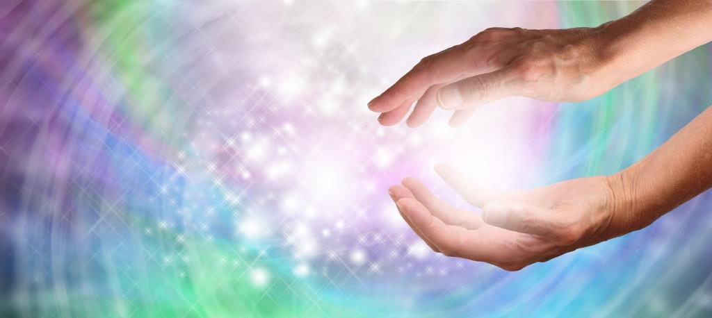 Reiki hands heal back pain